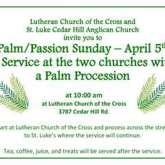 Palm/ Passion Sunday Service