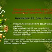 Doodle Dogs 2nd Annual Christmas Shopping Event