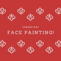 Canada Day Face Painting!