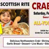 Sacramento Scottish Rite Annual Crab Feed 2018