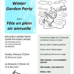 26th Annual Winter Garden Party