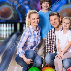 Edmonton Twin and Triplet Club Family Bowling Event