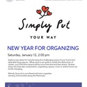 New Year for Organizing