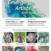 Emerging Artists Group Show at Winged Canvas Art Hub