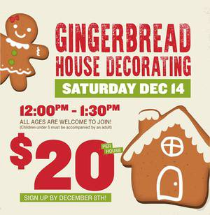 Create Your Own Gingerbread House!