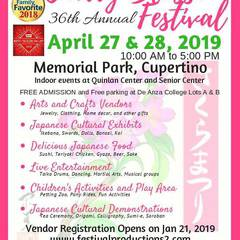 36th Annual Cupertino Cherry Blossom Festival