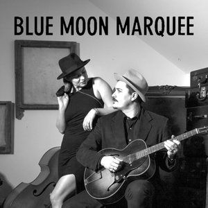 Blue Moon Marquee at the Gallery