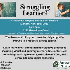 Arrowsmith Program Information Session