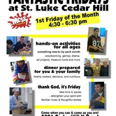 Fantastic Fridays at St. Luke Cedar Hill