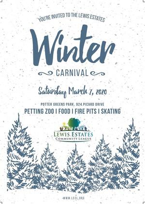 Lewis Estates Winter Carnival