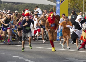 Turkey Trot at the Long Center