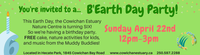 Happy B'Earth Day Party!