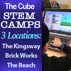 The Cube STEM Camps & Classes