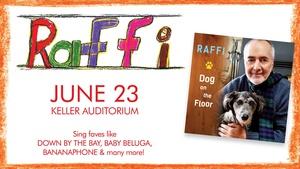 Raffi at the Keller Auditorium