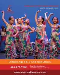 Children & Teen Flamenco Dance Class starts Sept 5 at Al Mozaico Flamenco Dance Academy 2017