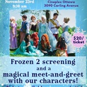Frozen 2 Screening and Meet-and-Greet