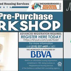 HUD Pre Purchase Homeownership Workshop- Oakland