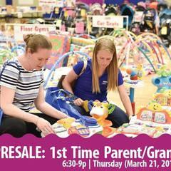 PRESALE 6:30-9p | 1st TIME PARENT/Grands, Spring 2019