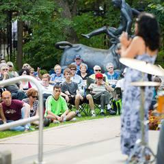 Jazz in the Leo Mol Sculpture Garden