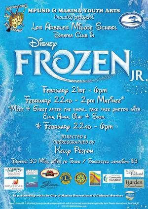 Frozen Jr. matinee