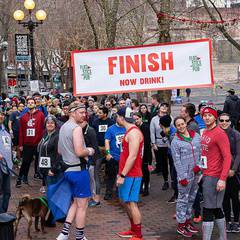 Flatstick Pub Pioneer Square 2020 .5K Fun Run
