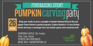 Pumpkin Carving Fun-draising Party