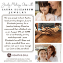 Laura Elizabeth Jewelry Making Class