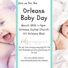 Orleans Baby Day!
