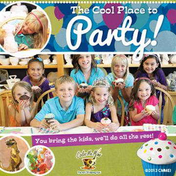 Color Me Mine Merivale's promotion image