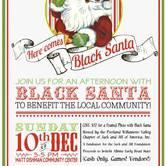 Here Comes Black Santa in NE PDX
