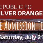 The Silver Orange Night at Republic FC