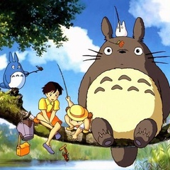 My Neighbor Totoro with POST at the Sunnyvale Library