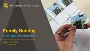 Family Sunday: Alter Egos and Animation