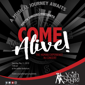 Youth Singers of Calgary presents: Come Alive