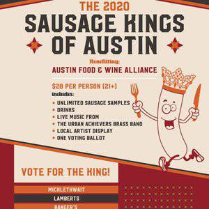 The 2020 Sausage Kings of Austin