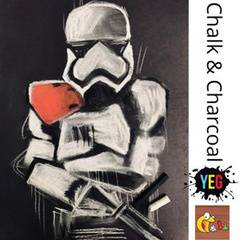 Star Wars - Chalk and Charcoal