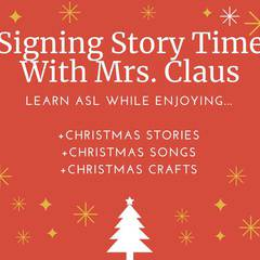 Christmas Signing Story Time Event