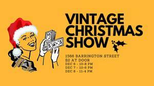 Halifax Vintage Christmas Show