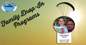 Alberta Aviation Museum Family Drop-In: Paper Airplane Test Lab
