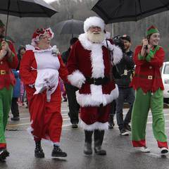 Santa's Landing Party