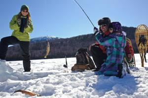 Family Day Ice Fishing Adventure!