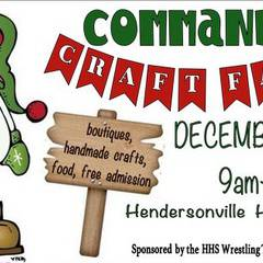 Fall Commando Craft Fair