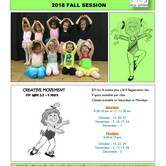 Fall Sessional Rhythm and Movement Class Ages 2.5-4 at Kids Can Dance