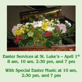 Choral Easter Service at St. Luke Cedar Hill