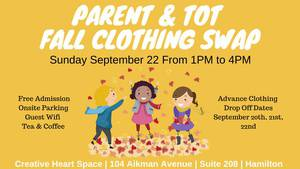 Parent & Tot Fall Clothing Swap