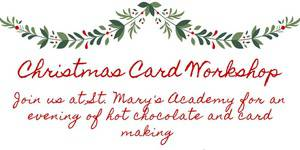 SMA Christmas Card Making