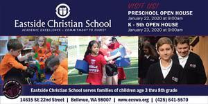 Eastside Christian School Open House for Elementary Grades