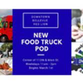 New Bellevue Red Lion Food Truck Pod