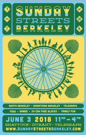 Sunday Streets Berkeley