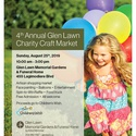 4th Annual Glen Lawn Charity Craft Market